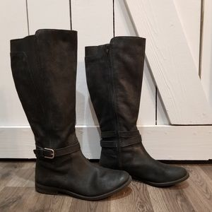 Lucky brand tall riding boots size 9
